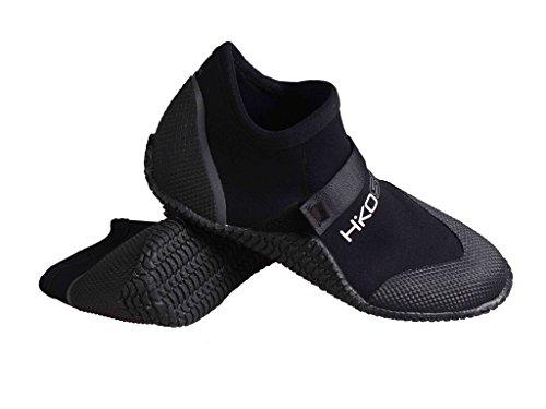 Buty neoprenowe Hiko Sneaker z rzepem do sportów wodnych, kanu kajaku, pływania SUP czarny czarny G-10