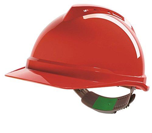 MSa Safety GV531–0000000–000Vgard 500NV PK + PVC, rosso