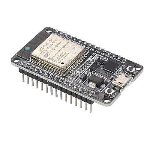 VKLSVAN ESP32 ESP-32S NodeMCUマイクロUSBデュアルコア開発ボードモジュール 2.4GHz ワイヤレスWiFi + Bluetoothデュアルモード ESP-WROOM-32モジュール内臓 マイクロコントローラ
