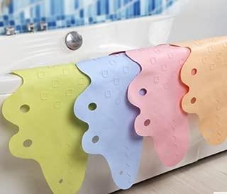 Home Cal Non-slip Bath Tub Mat Heat Insulation and Non Fading Non-Toxic Mat Child Cartoon Mat(Blue,37.4