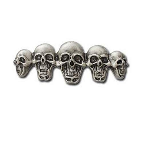 Hells-Design Anstecknadel Skulls Totenkopf