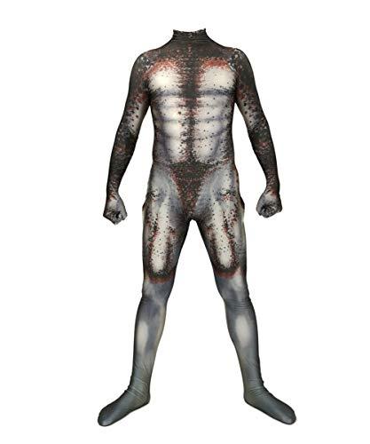 Halloween-Anzüge, Einteilige Strumpfhosen, Herren-, Damen-, Kinder-Standardgrößen, Maskeradenkostüme-Ladysize-L