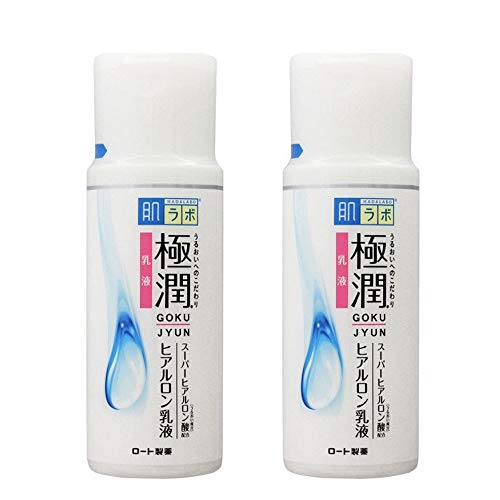 Rohto Hadalabo Gokujyn Hyaluronic Acid Milk 140ml - 2pcs