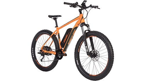 Fischer EM 1723 E-bike, orange matt, 27,5