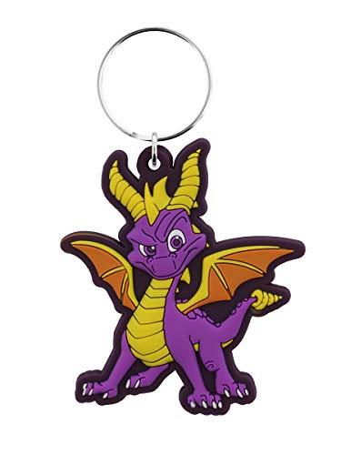 Pyramid International Spyro The Dragon Rubber Keychain Dragon Stance 6 cm