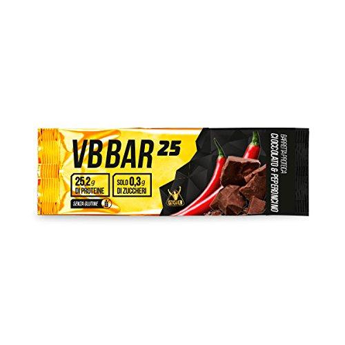 VB Bar 25 Protein Bar NET box 24x50g. gusto Cioccolato Peperoncino