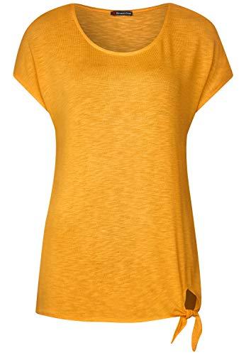 Camiseta,para mujer. color amarillo Mostaza.