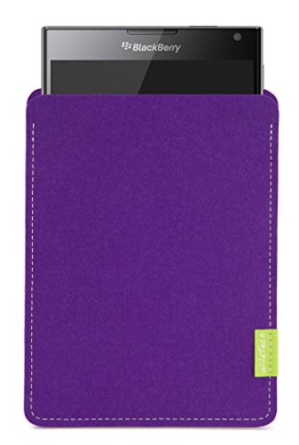 WildTech Sleeve für BlackBerry Passport Hülle Tasche - 17 Farben (Handmade in Germany) - Lila