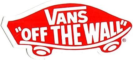 Amazon.com : Vans Footwear Skateboard Sticker - 8cm wide approx ...