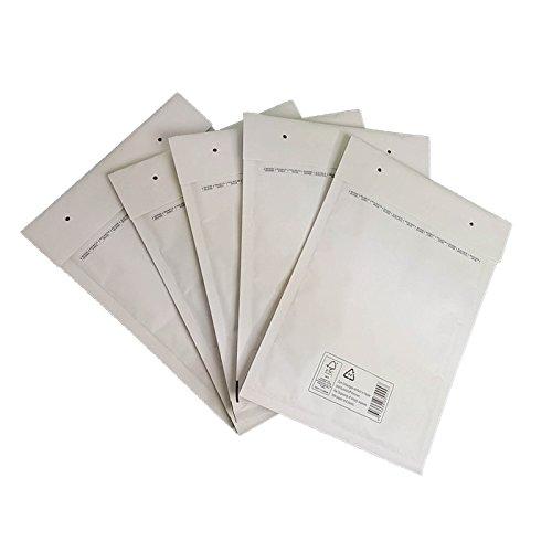verpacking 500 D/4 Weiss Luftpolsterversandtaschen Luftpolstertaschen Umschläge