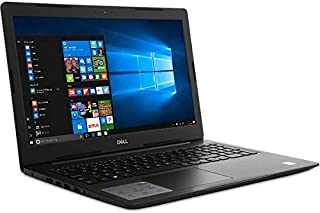 Dell 5570 Laptop , Core i7 (8th Generation) , 2.5 GHz & more , 15 - 15.9 Inch , 2 TB , 16 GB RAM , 4 GB Graphic Card DOS- Black