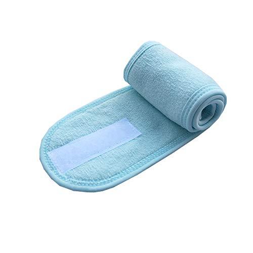 Bandeaux Velcro Lavage De Visage Sport Yoga Foulard Maquillage Beauté Coiffure (4 PièCes)