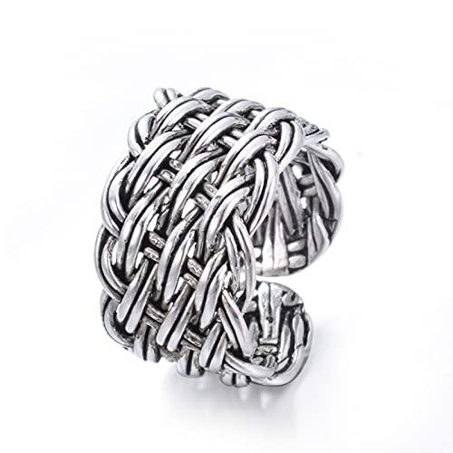 Nieuwe Collectie 100% 925 Sterling Zilver Trendy Thai Zilveren Bloem Dames Vinger Ringen Sieraden Voor Vrouwen Open Ring Nooit Vervagen Gift