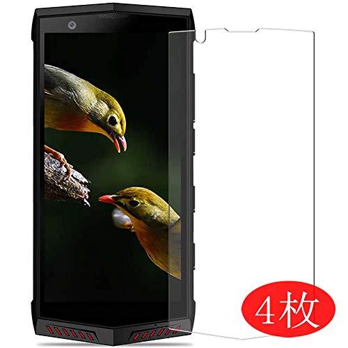 VacFun 4 Piezas HD Claro Protector de Pantalla para Poptel P60, Screen Protector Sin Burbujas Película Protectora (Not Cristal Templado) New