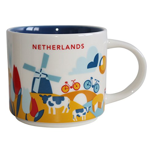 Starbucks Niederlande Netherlands Mug YAH You are here Collection - 14 fl oz / 414 ml