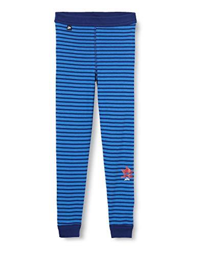 Schiesser Jungen Unterhose Lang Unterwäsche, blau, 116