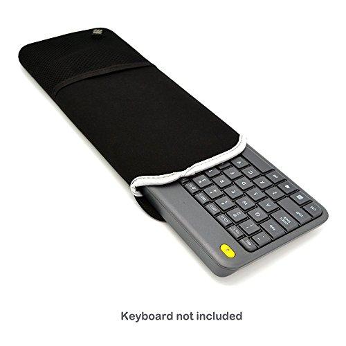 Case Wonder Soft Neue Neopren-Hülsen Bewegliches Schutztragetasche Abdeckung Taschen-Haut für Logitech K400 Plus Touch Wireless Tastatur