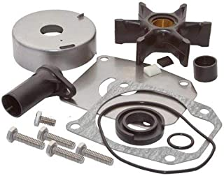 SEI MARINE PRODUCTS- Compatible with Evinrude Johnson Water Pump Kit 40 45 50 55 60 65 70 75 HP 2 Stroke Wedge Key