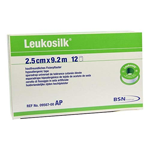 LEUKOSILK 2,5 cmx9,2 m 12 St