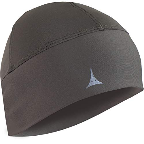 Skull Cap Helmet Liner Running Beanie - Ultimate Thermal Retention and Performance Moisture Wicking. Fits Under Helmets (Army Green)