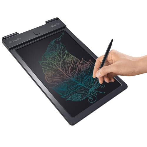 Generic WP9310 9 pulgadas LCD Color Screen Writing Tablet Handwriting Drawing Sketching Graffiti Scribble Doodle Board for Home Office Writing Drawing Drawing (Black)