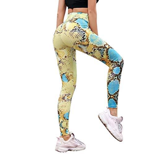 Leggings Damen Hose Hosen Frauen Fitness Leggings Serpentine Printing Mesh Leder Leggins Weibliche Legins Sexy Hosen Hohe Taille Hose S H.