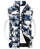 dahuo Mens Camo Lightweight Packable Down Vest Basic Outdoor Puffer Vest 1 M