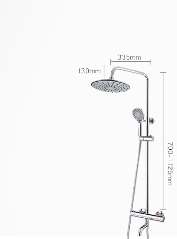 Yn Shower Kit Smart Thermostat Shower Head Multi-function Top Head Shower Bathroom Shower