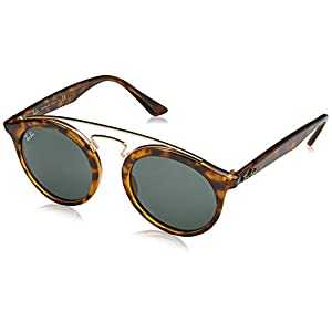 Fashion Shopping Ray-Ban Injected Unisex Sunglass Round