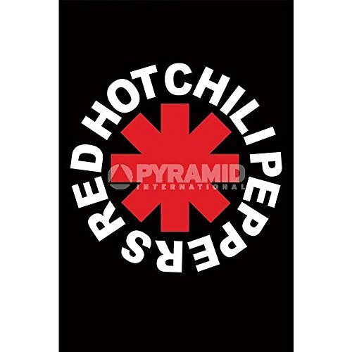 (24x36) Red Hot Chili Peppers (Logo) Music Poster Print by Poster Revolution by Poster Revolution