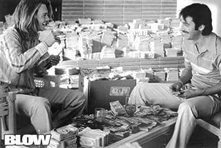 Hotsuff Blow (2001) Movie Poster Counting Money Stacks Johnny Depp & Jordi Molla 24