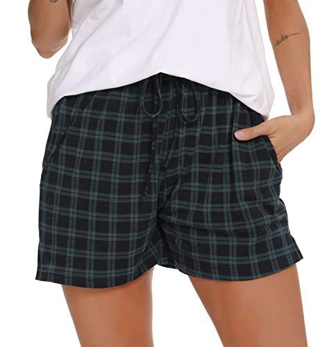 Lovasy Pantalones Cortos Mujer Pijamas Mujer Verano Ropa Deporte Dormir Camiseta Mujer Pantalones Cortas S-XXL