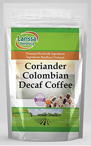 Coriander Colombian Decaf Coffee Award-winning store Naturally Gourmet Time sale W Flavored