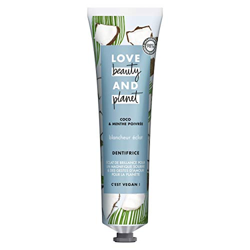 Love Beauty And Planet Dentifrice Blancheur Vegan,...