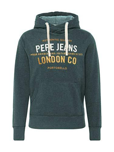 Pepe Jeans Sudadera Verde para Hombre