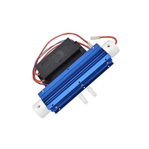 Suading 10G 220V Generador de Ozono Tubo de SíLice Ozonizador de Agua Aqua Air Agua Ozonizador Fuente de AlimentacióN con Disipadores de Calor