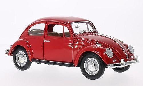 compras de moda online VW escarabajo, rojo, 1967, Modelo Modelo Modelo de Auto, modello completo, Lucky El Cast 1 18  ventas en línea de venta