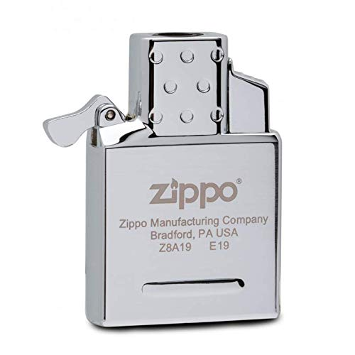 Zippo 18799 Butane Lighter Insert-Single Torch-Empty Gaseinsatz-2006814, Stahl