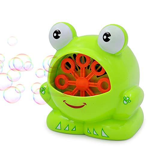 KingbeefLIU Diseño De Rueda De Juguete De Soplador De Burbuja Automática En Forma De Volante De Dibujos Animados para Niños, Portátil, Duradero Color Aleatorio del Volante