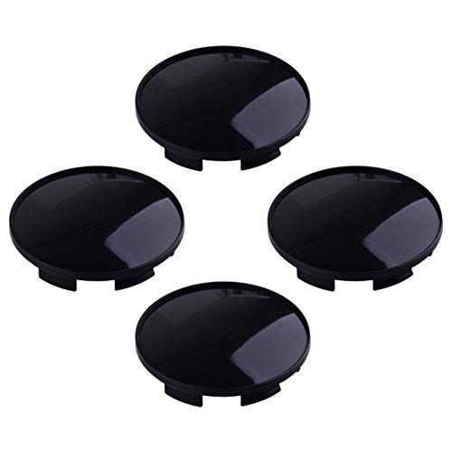 CITALL ABS en Plastique Roue De Voiture Center Hub Caps Couvre Set (Pas de Logo) 4pcs 68 x 61.5mm