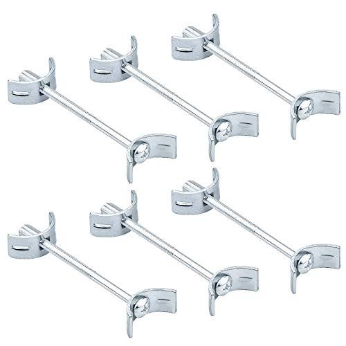KUPINK 6 PCS Raccords de Plan de Travail Connecteur de Plan de Travail pour Assembler Serrer et Fixer M6 x 100 mm