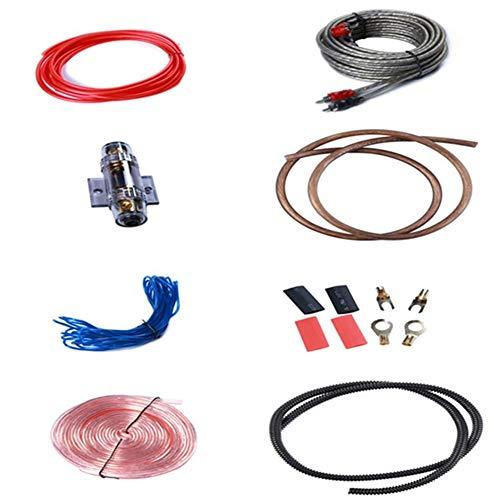 Yzki 8GA Wire Gauge Amp, Automobiles High Performance Gauge Amp Kit Versterker Kabel Bedrading Auto Gereedschap