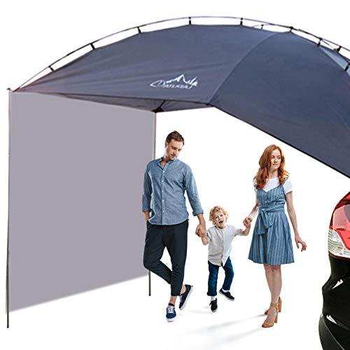 Dachzelt Auto,Outdoor Camping Familienauto Zelte Heckklappe Vordach Für Auto, Für Camping Und Familie, Sommercamping