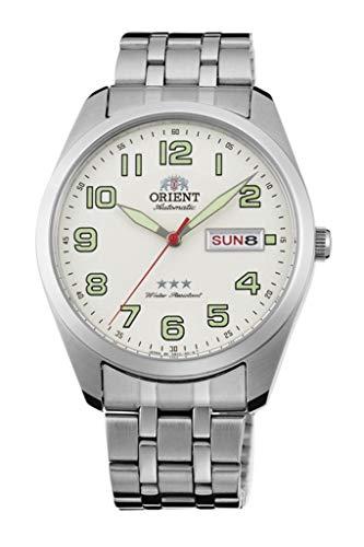 Orient Reloj Analógico para Unisex Adultos de Automático con Correa en Acero Inoxidable RA-AB0025S19B