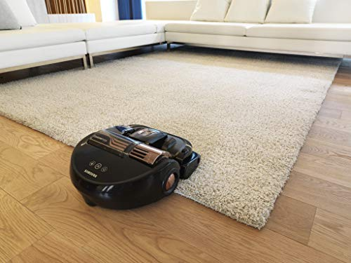 Samsung POWERbot R9350 POWERbot Turbo Robot Vacuum, Large Dust Bin Ideal for Carpets & Hard Floors with 8300Pa Strong Performance, Works with Amazon Alexa and the Google Assistant