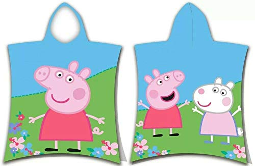 for-collectors-only Peppa Pig Poncho George Strandtuch Badeponcho Peppa Wutz Handtuch Kinderponcho
