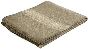 Khaki Italian Army Type European Surplus Style Wool Blanket