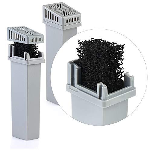 Beaurce 2 Teile/Satz Generisches Filterkassetten-Kit Für SoClean 2 CPAP Filterkassetten-Kit Filterkassetten-Rückschlagventil Längere Lebensdauer