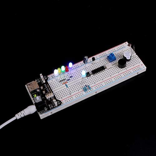 『ELEGOO Arduino用改良電子エレクトロニクス キット Arduino用電子LearningキットE3』の2枚目の画像