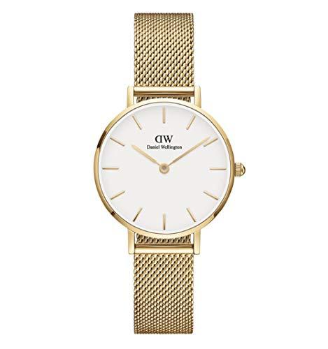 Daniel Wellington DW00100350 - Reloj de pulsera para mujer (mecanismo de cuarzo, 28 mm), color dorado